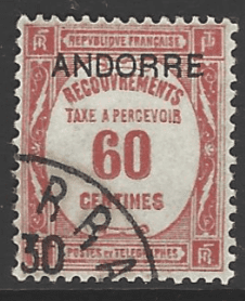 Andorra French Colonies SG FD34