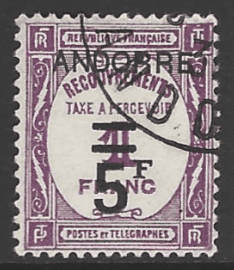 Andorra French Colonies SG FD38