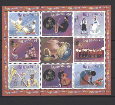SG MS 1241. Barbados Stamps