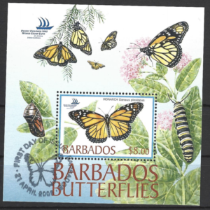 SG MS 1265. Barbados Stamps