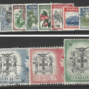SG 159-174, Jamaica Stamps Commonwealth stamps.