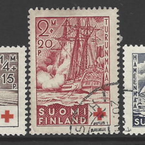SG 312-314. Finland Stamps