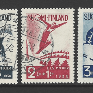 SG 321-323. Finland Stamps