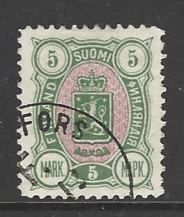 SG 120. Signed by Expert. Finland Stamp