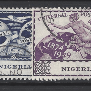 Nigeria SG 64-67. Commonwealth Stamp
