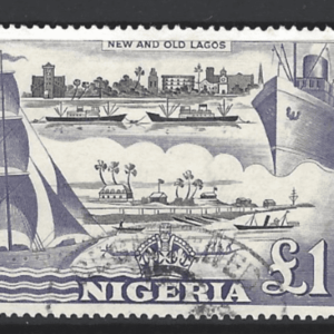Nigeria SG 80. Commonwealth Stamp