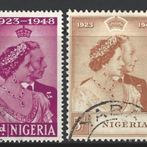 Nigeria SG 62-63. Commonwealth Stamp