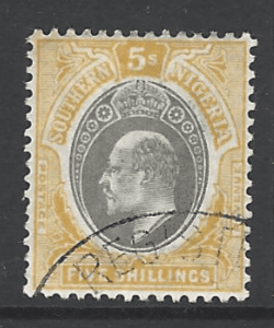 Southern Nigeria SG 18. Commonwealth Stamp