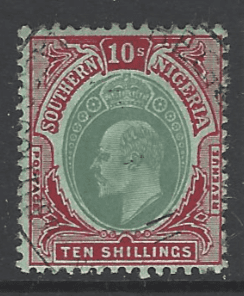 Southern Nigeria SG 43. Commonwealth Stamp