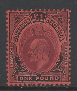 Southern Nigeria SG 44. Commonwealth Stamp