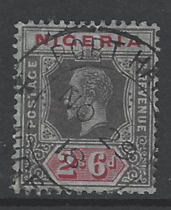 Nigeria SG 27. Commonwealth Stamp