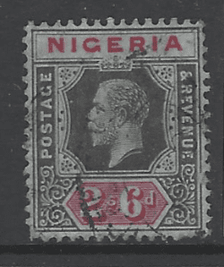 Nigeria SG 27a. Commonwealth Stamp