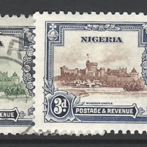 SG Nigeria 30-33. Commonwealth Stamps