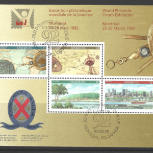 MS 1491. Mini Sheet, Canada. Commonwealth Stamps