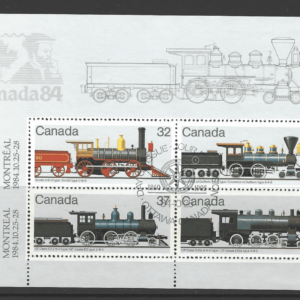 SG MS 1136. Mini Sheet, Canada, Commonwealth Stamps