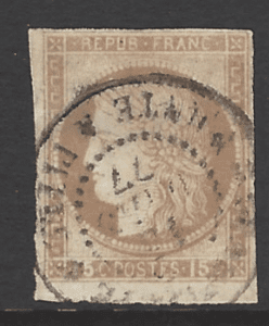 French General Colonies, SG 21