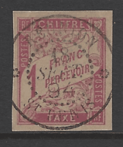 French General Colonies, SG D80