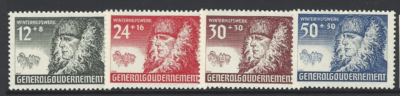 General Government. SG 416-9. Mounted Mint
