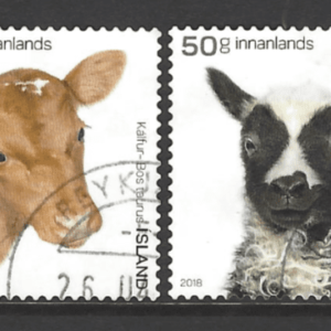 New Issue Iceland Stamps. Europe Stamps. Animal Stamps