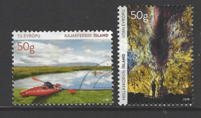 New Issue Iceland Stamps. Europe Stamps.