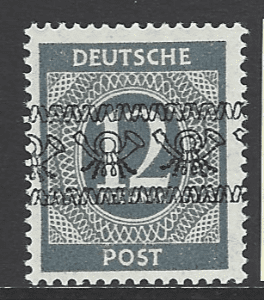 SG A74 Expertised Schlegel. Mounted Mint. German Stamps