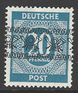 SG A77a. Unmounted Mint. German Stamps