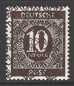 SG A89. Mounted Mint. German Stamps