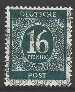 SG A94. Unmounted Mint. German Stamps
