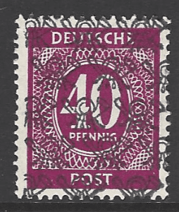 SG A99. Unmounted Mint. German Stamps