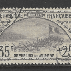 SG 374, French Stamp