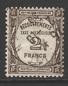 SG D461, French Stamp