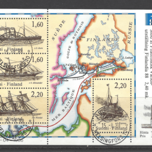 MS 1107, Mini Sheet, Finland Stamps