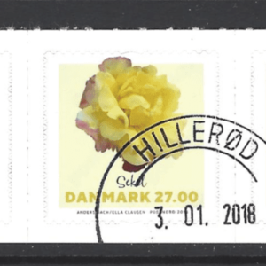 New Issue, Denmark Stamps, Flower stamps
