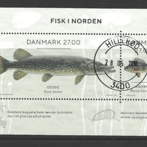 New Issue, Denmark Stamp. Fish Stamp