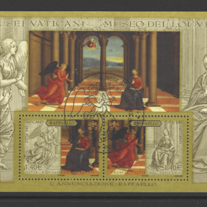 MS 1461, Vatican Mini Sheet Stamps