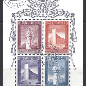 MS 274a, Vatican Mini Sheet Stamps