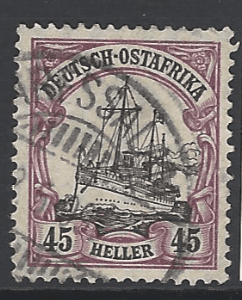 German East Africa, SG 40. German Colonies stamps