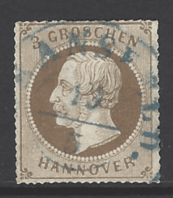 Hanover SG 39a, German States stamp