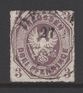 Prussia SG24, German states stamps