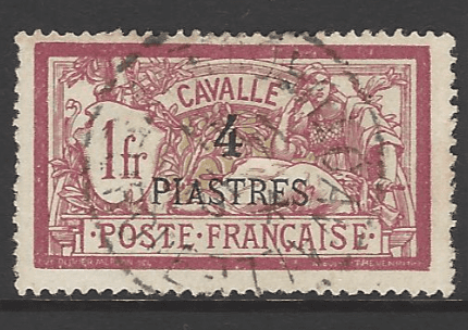 Kavalla SG56, French Colonies Stamps