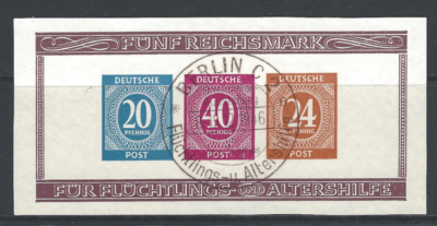 MS 925ab, German Zone Stamps