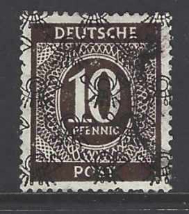 SG A89, German Zone Stamp
