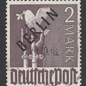 B18, Germany-Berlin Stamp