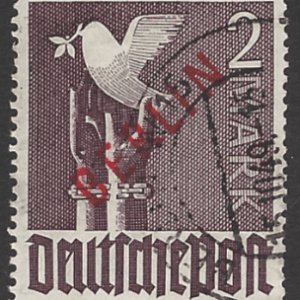 SG B34 Expertised, Germany-Berlin Stamps