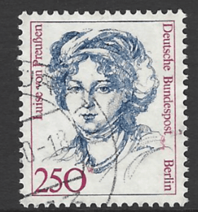 SG B745. Germany-Berlin Stamp