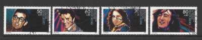 SG 2235-8, West Germany Stamps, Musician Stamps