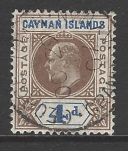 SG 13, Cayman Islands stamp