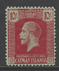 SG 67. Unmounted Mint. Cayman island Stamp
