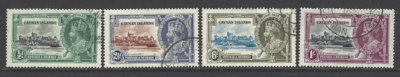 SG 108-111, Cayman Island Stamps
