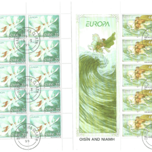 SG 1124-5 Sheetlets. Ireland Stamps